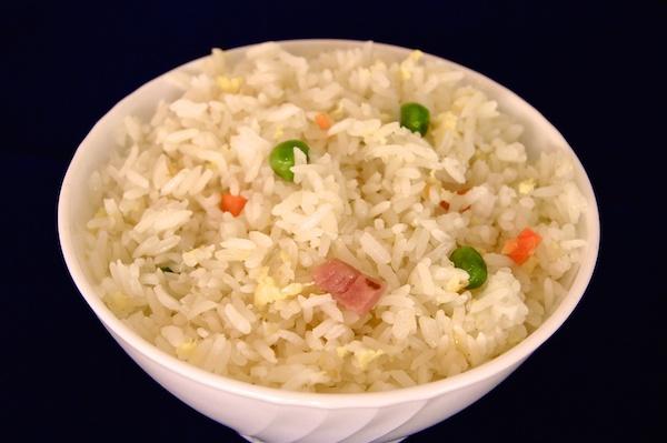 Receta de arroz tres delicias chino