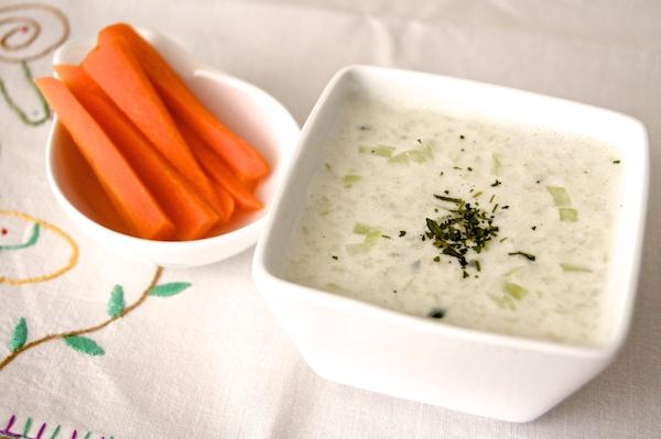 Salsa tzatziki. Receta griega.