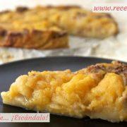 Tarta de manzana casera, jugosa y muy fácil