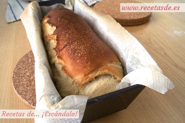 Cómo preparar pan de molde casero