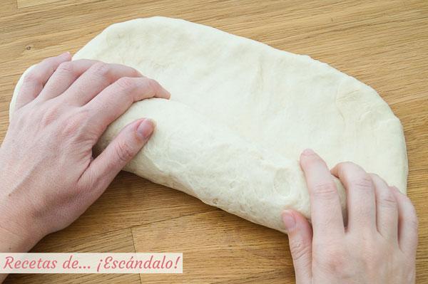 Formar pan de molde
