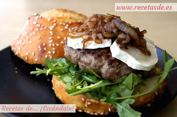 Receta de hamburguesas con pan casero