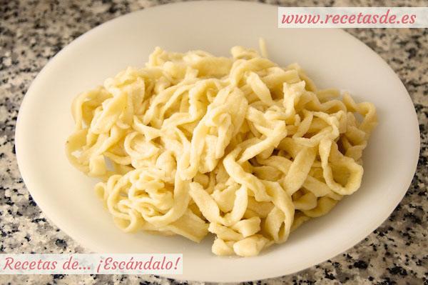 Receta pasta fresca
