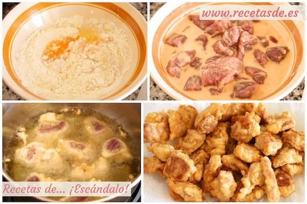 Cómo hacer la receta de cerdo agridulce al estilo chino
