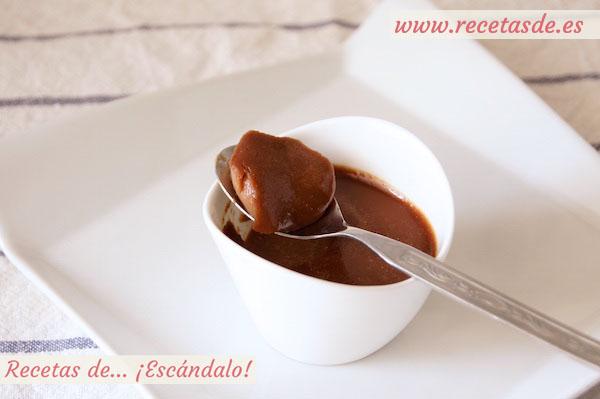 Cómo hacer panacota o panna cotta de Nutella, un postre delicioso