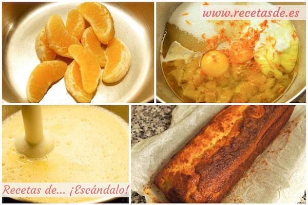 Bizcocho De Naranja Esponjoso Casero Y Fácil
