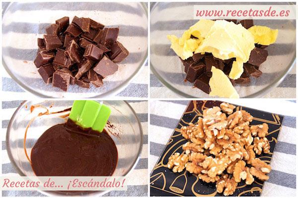 Cómo preparar brownie de chocolate con nueces, la receta más fácil