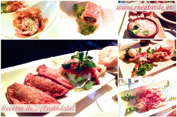 Cena en el restaurante Los Portales - Cáceres