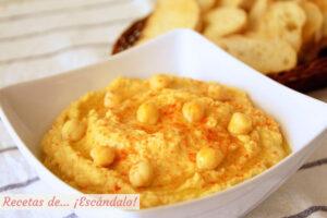 Hummus o crema de pure de garbanzos