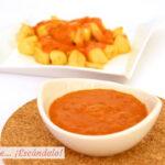 Salsa brava casera para las patatas bravas, receta fácil