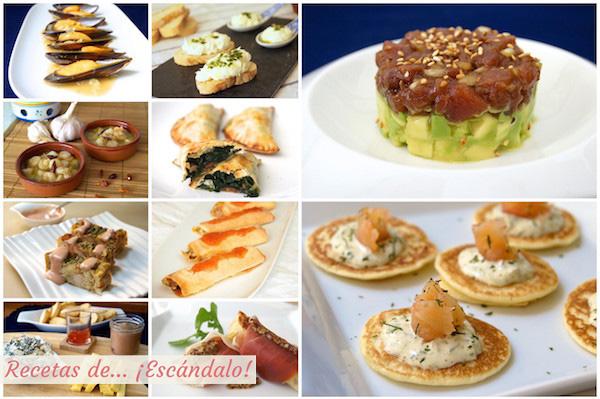Entrantes aperitivos y canap s para navidad f ciles y for Cenas sencillas y originales