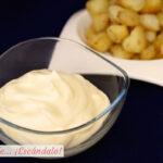 Como hacer mayonesa casera, receta con todos los trucos