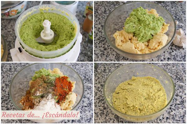 Como hacer la masa del falafel