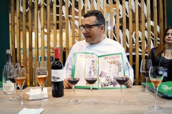 Miguel Vega, chef en Delgado Seleccion