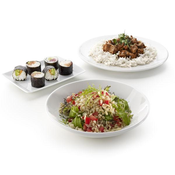 Arrocera para cocinar arroz y cereales al microondas rice for Cocinar 6 tipos de arroz