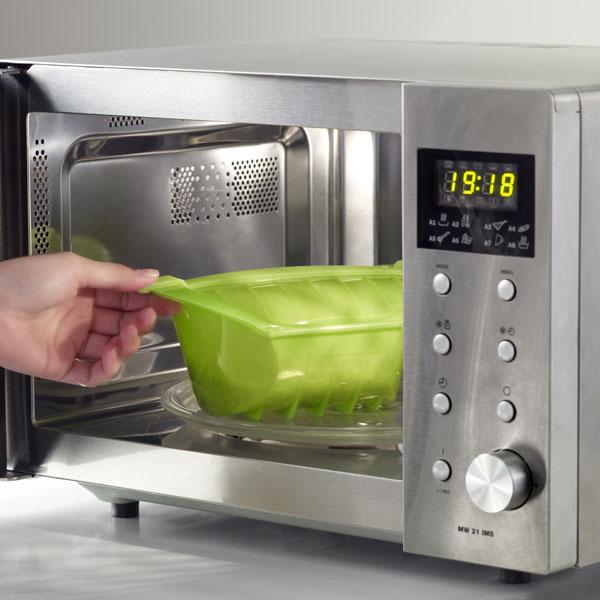 Estuche para cocinar al vapor hondo 1 2 personas verde - Utensilios para cocinar al vapor ...