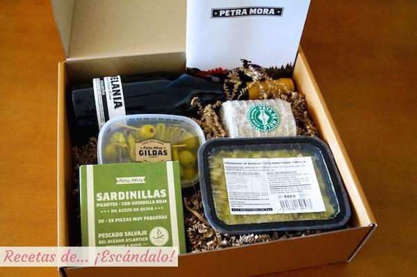 Productos gourmet de la tienda online petra mora