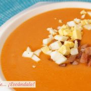 Salmorejo cordobes, como hacer la receta tradicional andaluza