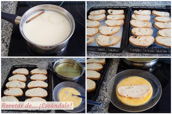 Como hacer torrijas caseras