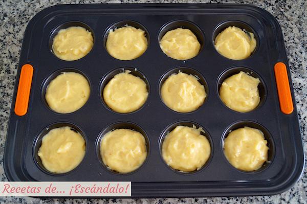 Hojaldre y crema para los pasteis de belem