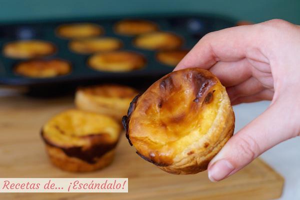 Pasteis de belem, pasteles de belem o pasteis de nata, postre portugues