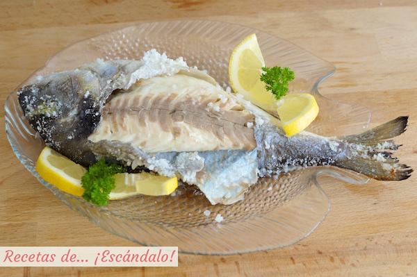 Receta de dorada a la sal, un pescado al horno facilisimo