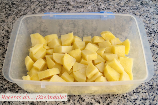 Patatas para pure