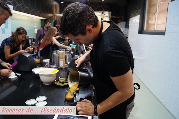 Cocinando con el robot de cocina MyCook