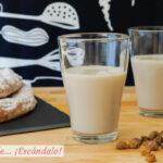 Horchata de chufa valenciana casera, muy facil