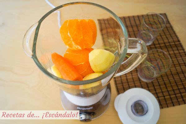 Smoothie o batido de frutas