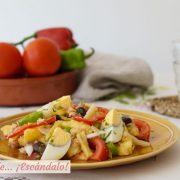 Ensalada campera de patatas tradicional