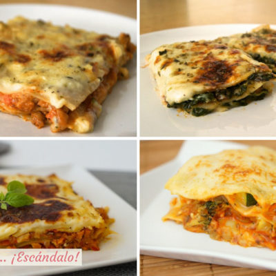Lasanas, conoce las mejores recetas caseras, explicadas paso a paso