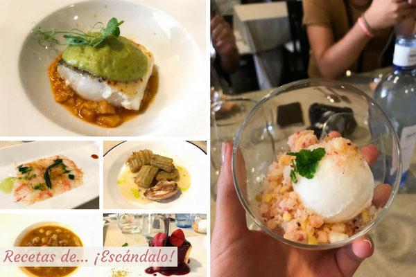 Comida en Restaurante Casa Herminia