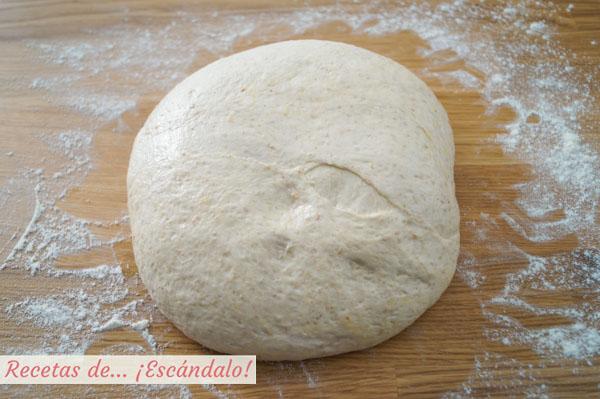 Masa de pan reposando