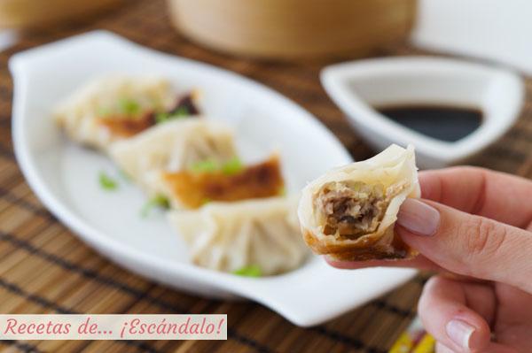 Como hacer gyozas o empanadillas japonesas, un dumpling delicioso