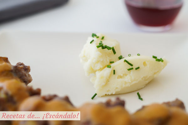 Guarnicion de pure de patata