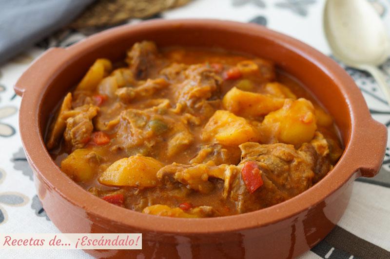 Caldereta De Cordero Con Patatas Receta Tradicional