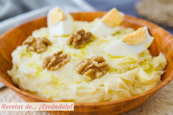 Receta tradicional de bacalao al ajoarriero o atascaburras
