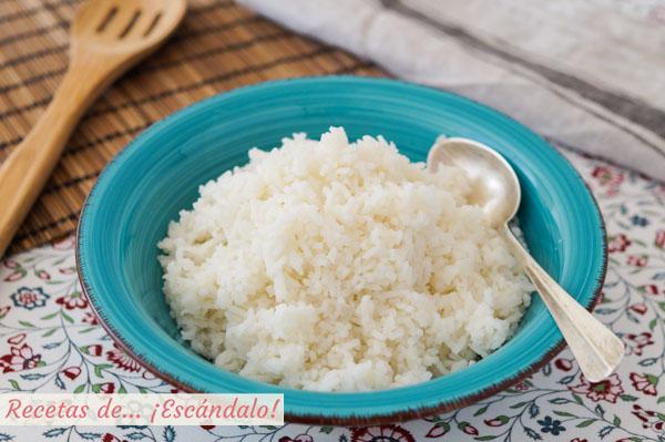 Como hacer arroz blanco y que te quede perfecto