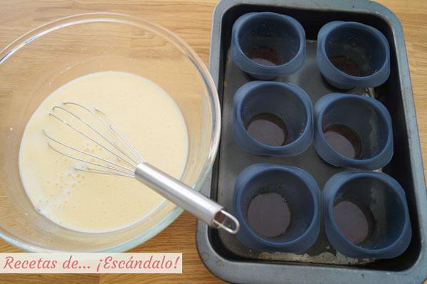 Como hacer flan de queso y huevo casero y cremoso