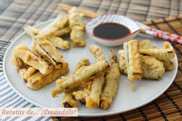 Receta de tempura de verduras con trucos para que sea crujiente y nada aceitosa