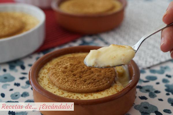 Receta tradicional de natillas caseras de huevo