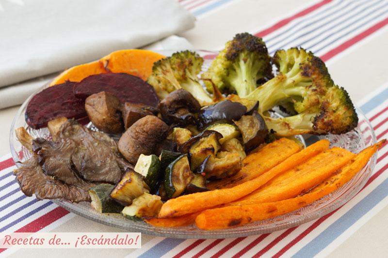 Verduras al horno. Todos los trucos para un resultado de 10