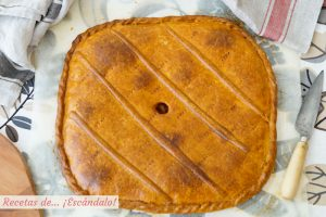 Masa para empanadas y empanadillas al horno. Receta muy facil