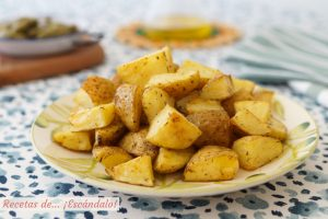 Patatas al horno asadas, la guarnicion ideal o aperitivo