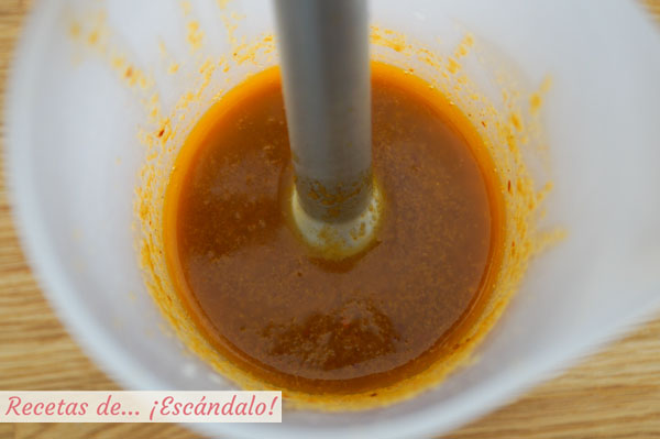 Receta de mojo picon rojo canario