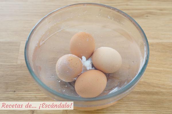 Tiempo coccion huevo