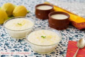 Mousse de limon con leche condensada. Receta de postre facil