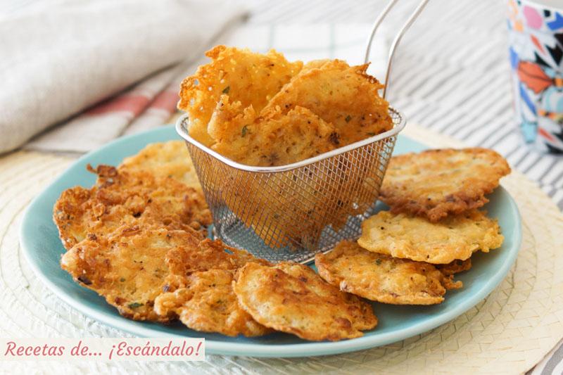Tortillitas o tortitas de camarones. Receta típica de Cádiz