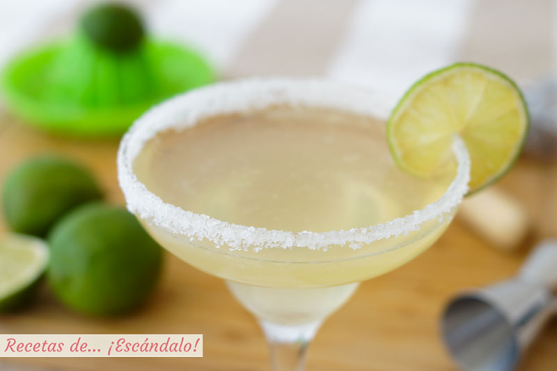 Coctel margarita, como prepararlo. Receta e ingredientes